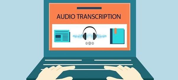 audio recording to transcript